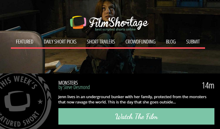 Monsters on Film Shortage