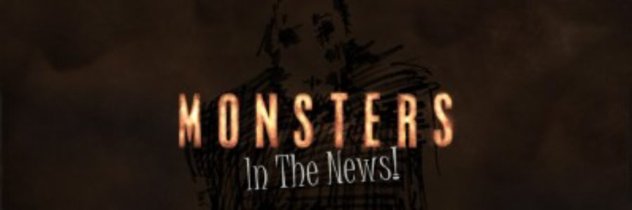 Monsters News Website Banner